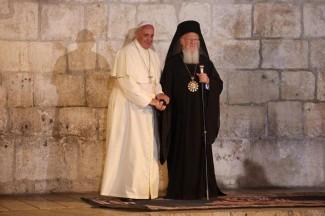 Papa Francesco e il Patriarca Bartolomeo
