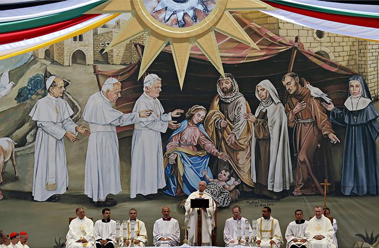 Papa Francesco, omelia a Betlemme