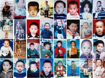 child trafficking China