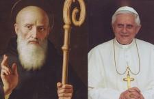 Benedetto XVI e S. Benedetto da Norcia, Abate, Patrono d'Europa: che intesa potente!