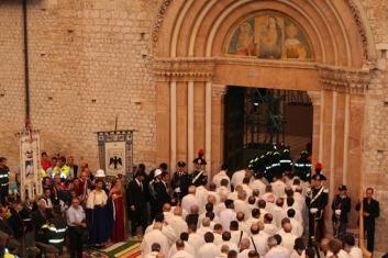 Festa della Perdonanza a L'Aquila, l'omelia del Vescovo