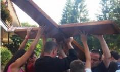 Ucraina: la croce e l'icona della Gmg attraversano il Paese