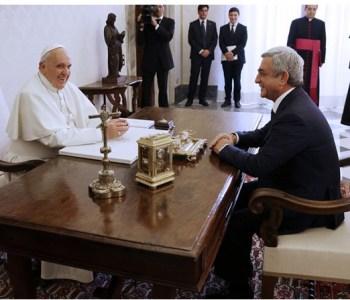 Dal Papa il presidente armeno: mondo si impegni per il Medio Oriente
