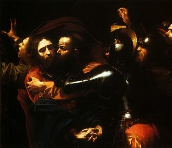 Caravaggio-La_cattura_di_Cristo_TN