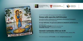 Arte Sacra, frati Cappuccini Umbria: 'Donne nello specchio dell'Altissimo'
