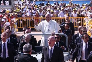 Papa Francesco Celebra La Messa Alla Gendarmeria Vaticana