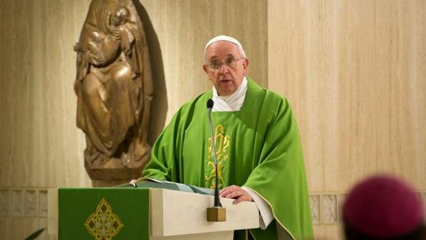 Papa Francesco Messa Santa Marta