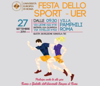 Sport, Univ. europea Roma, sabato la festa a Villa Pamphili