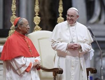 Pope Francis meets Sri Lankan Community at Saint Peter Basilica