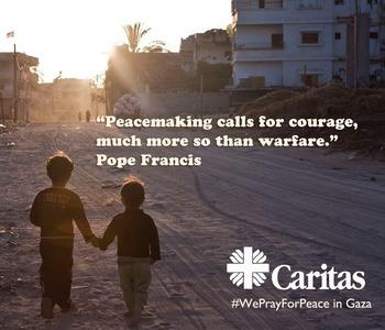 Una risposta urgente per Gaza: Coordinamento delle organizzazioni cattoliche umanitarie