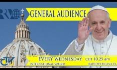 Udienza generale di Papa Francesco mercoledì 3 settembre 2014 – LIVE TV h.10.15