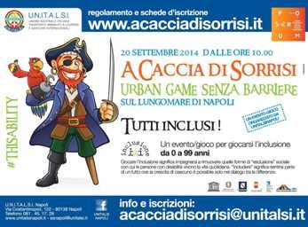 Unitalsi Napoli, oggi 'a caccia di sorrisi' sul lungomare