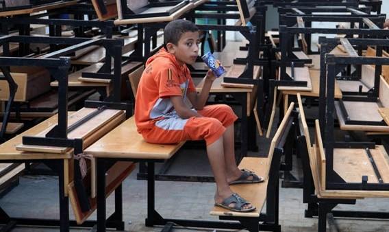 Anche a Gaza riaprono le scuole. Ma con i banchi troppo vuoti!