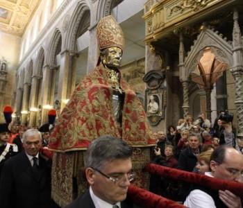 Napoli, iniziano i riti solenni per la festività di San Gennaro