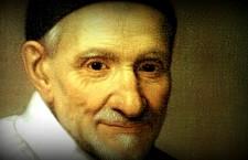 S. Vincenzo de' Paoli diceva : 'Andate 10 volte al giorno dai poveri, e 10 volte al giorno troverete Dio!'