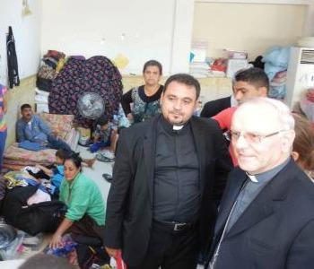 Galantino: diamo un casa ai profughi iracheni