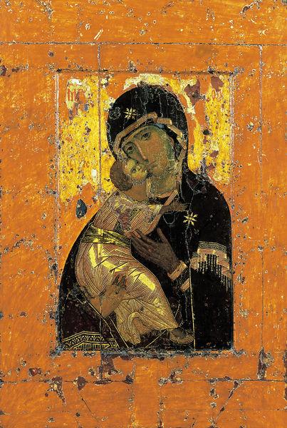 L'icona Theotokos di Vladimir