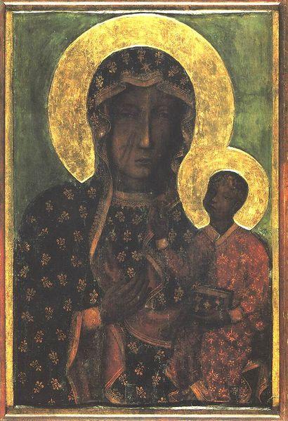 icona della Madonna di Częstochowa