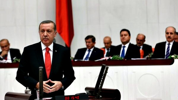 pronunciamento del parlamento di Ankara sulla partecipazione dell'esercito turco in Siria e in Iraq