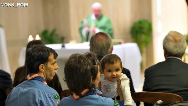 Papa Francesco: non si può essere cristiani senza la grazia dello Spirito