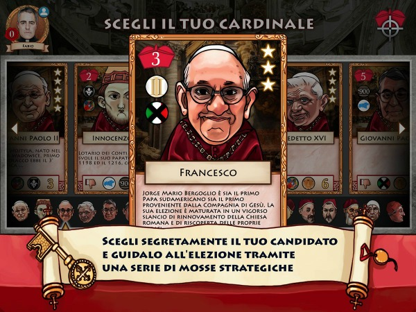 Tutti 'papabili'... se il Conclave diventa un gioco digitale