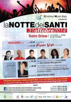 La Notte dei Santi @ Teatro Orione, Roma... e Ovunque!