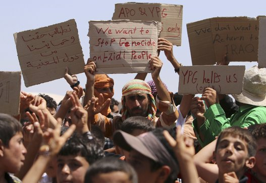 Iraq Siria violenze