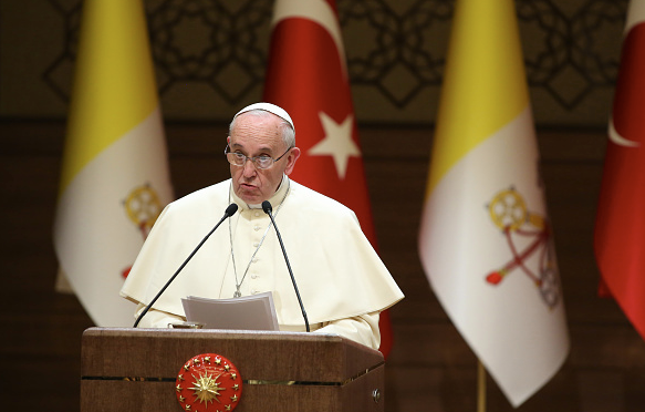 Papa Francesco Ankara