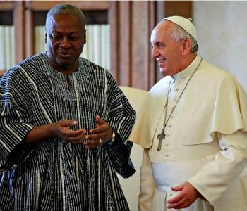 Da Papa Francesco il presidente del Ghana. Colloquio su famiglia ed Ebola