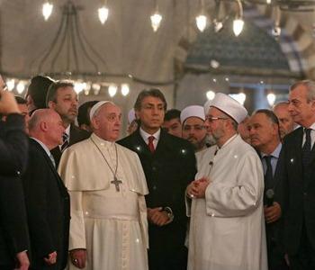 Il Papa a Santa Sofia e alla Moschea Blu