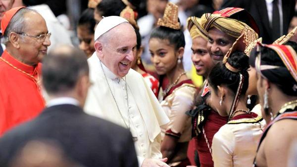 Il programma del viaggio del Papa in Sri Lanka e Filippine