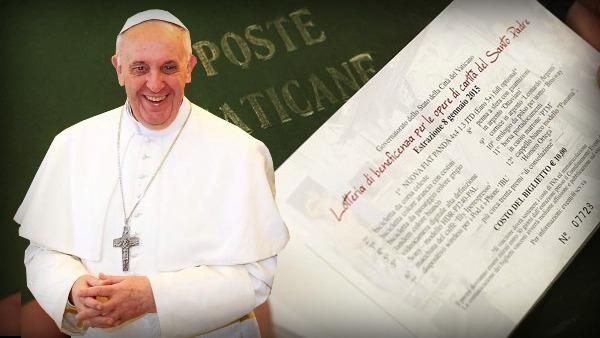 Parteciperai alla lotteria di Papa Francesco per i poveri?