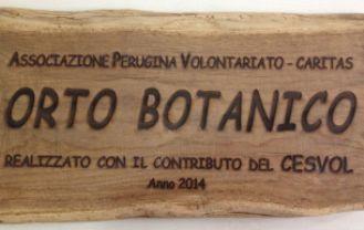 targa_orto_botanico_perugia_riccardo_liguori_cronaca