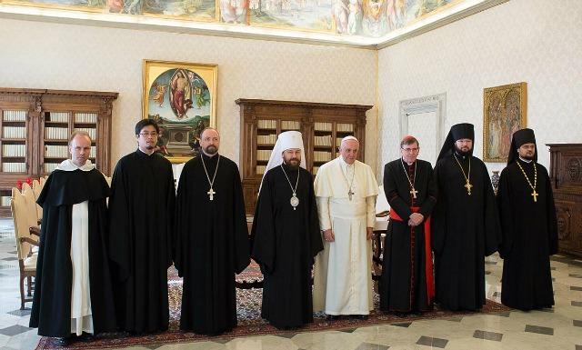 Per Mosca è tempo di rispondere alle aperture ecumeniche di papa Francesco
