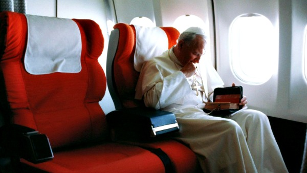 San Giovanni Paolo II, nei suoi viaggi apostolici,