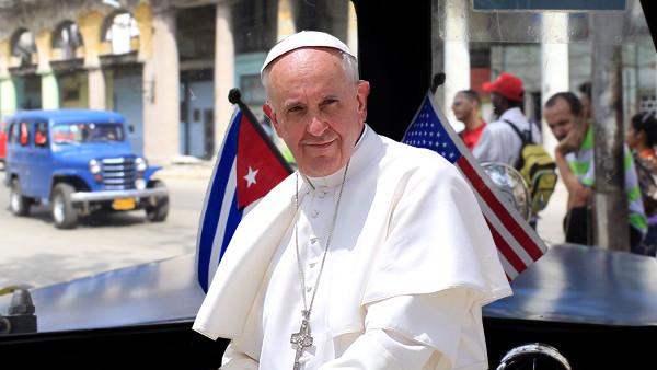 Cuba-Usa, Papa felice per avvicinamento