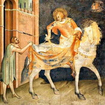 San Francesco riconobbe il ''tesoro'' dei poveri e lo fece suo