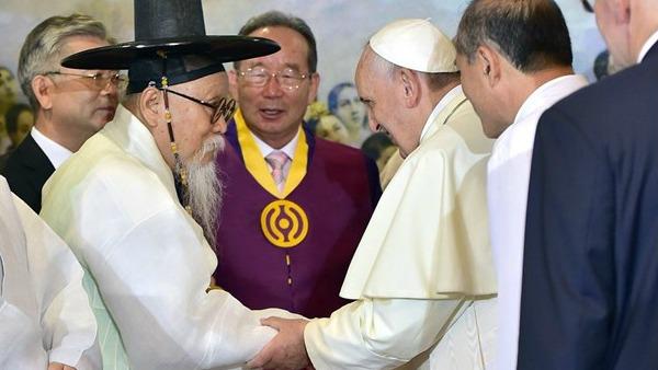 Auguri di Papa Francesco ai coreani
