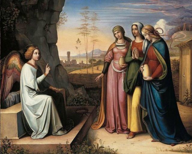 L'altro discepolo corse più veloce di Pietro e giunse per primo al sepolcro.