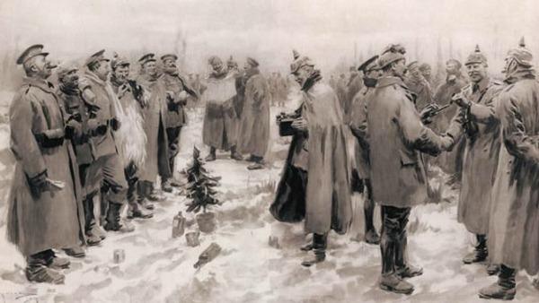 Quando il Natale fermò la grande guerra