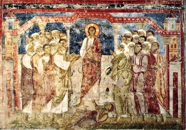Esorcismo nella Sinagoga di Cafarnao