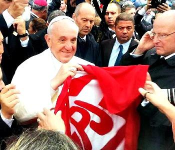 Papa Francesco ai giovani brasiliani: scommettete su grandi ideali