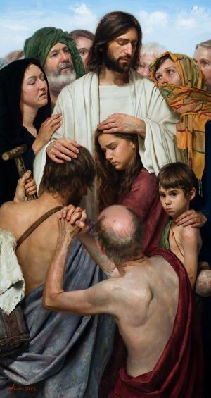#Vangelo: Si gettavano su di lui per toccarlo