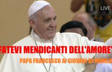 Papa Francesco ai giovani di Manila: 'La vostra realtà è superiore ai discorsi che avevo preparato'