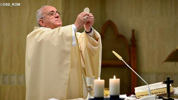 Papa Francesco: chi ama Dio è libero, solo lo Spirito apre il cuore