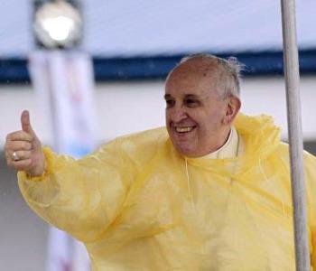 Dove è passato il tifone Hayan le orme del Papa
