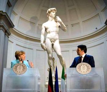 Renzi-Merkel: «Insieme per cambiare l'Europa»