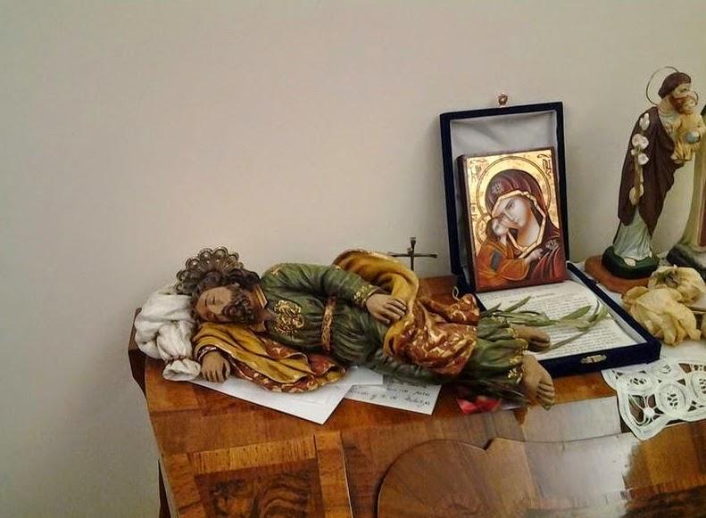 Il San Giuseppe dormiente al quale Papa Francesco affida i problemi più difficili da risolvere