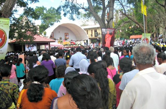 Kurunegala, celebrata la prima festa di san Joseph Vaz, canonizzato da Papa Francesco
