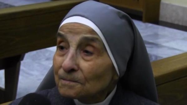 Suor Giovannina, da 100 anni al servizio di Dio e dei fratelli